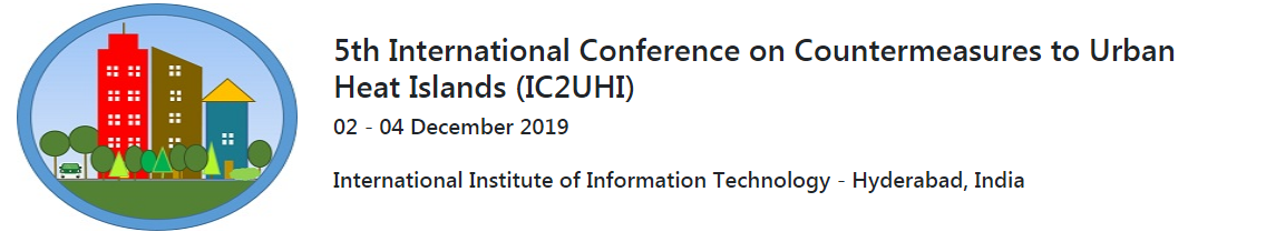 5th International Conference on Countermeasures to Urban Heat Islands (IC2UHI)